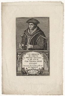 Sir Thomas More, after Hans Holbein the Younger - NPG D5297