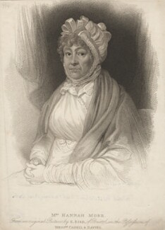 Hannah More, by James Godby, after  Edward Bird - NPG D5299