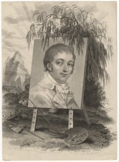 George Morland, by Mackenzie, after  Sophie Jones - NPG D5304