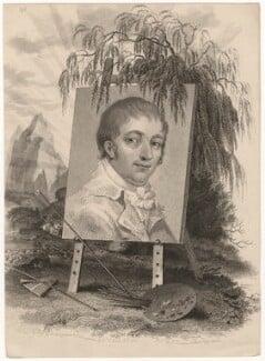 George Morland, by Mackenzie, after  Sophie Jones - NPG D5304