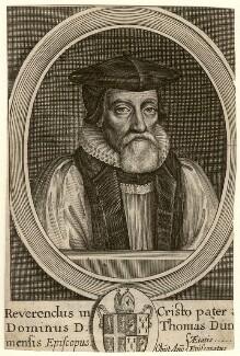 Thomas Morton, by William Faithorne - NPG D5306