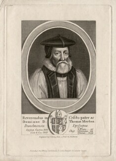 Thomas Morton, by T. Berry, published by  Thomas Rodd the Younger, published by  Horatio Rodd, after  William Faithorne - NPG D5308