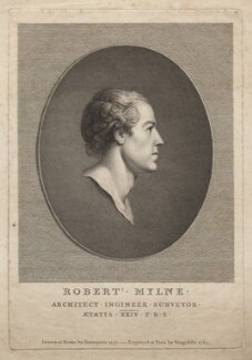 Robert Mylne, by Vincenzio Vangelisti, after  Richard Brompton - NPG D5326