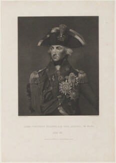 Horatio Nelson, by J. Golding, after  Lemuel Francis Abbott - NPG D5330