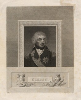 Horatio Nelson, by William Henry Worthington, after  Robert Bowyer - NPG D5332