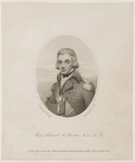Horatio Nelson, by William Evans, after  Henry Edridge, published 1798 - NPG D5333 - © National Portrait Gallery, London