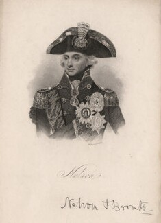 Horatio Nelson, by William Read, after  Lemuel Francis Abbott - NPG D5338