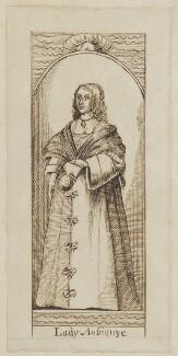 Katherine Livingston (née Howard), Viscountess Newburgh, by Unknown artist - NPG D5344