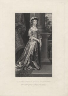 Margaret Cavendish (née Lucas), Duchess of Newcastle upon Tyne, by William Greatbach, after  Abraham Diepenbeeck - NPG D5345