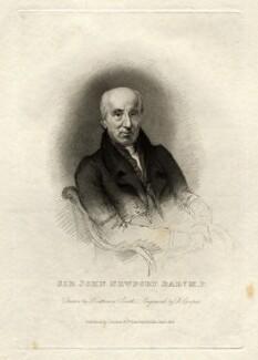Sir John Newport, 1st Bt, by Robert Cooper, after  Stephen Catterson Smith - NPG D5351