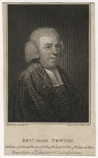 John Newton, by Joseph Collyer the Younger, after  John Russell, published 1 January 1808 (1788) - NPG  - © National Portrait Gallery, London