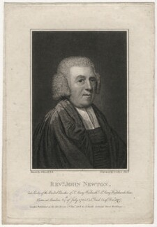 John Newton, by Joseph Collyer the Younger, after  John Russell - NPG D5354