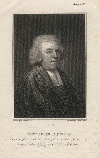 John Newton, by Joseph Collyer the Younger, after  John Russell - NPG D5355
