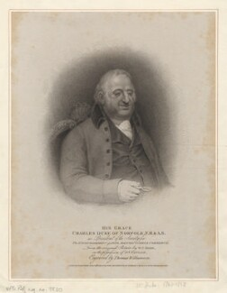 Charles Howard, 11th Duke of Norfolk, by Thomas Williamson, published by  Robert Cribb & Son, after  Sir William Charles Ross - NPG D5366