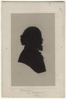 Alfred, Lord Tennyson, by Harry Edwin - NPG D537
