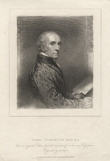 James Northcote, by Henry Meyer, published by  T. Cadell & W. Davies, after  James Northcote - NPG D5370