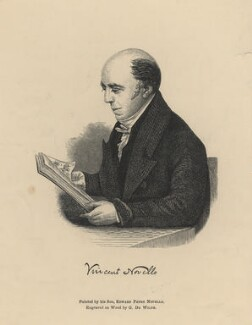 Vincent Novello, by G. De Wilde, after  Edward Petre Novello - NPG D5373