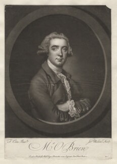 William O'Brien, by James Watson, after  Francis Cotes - NPG D5375