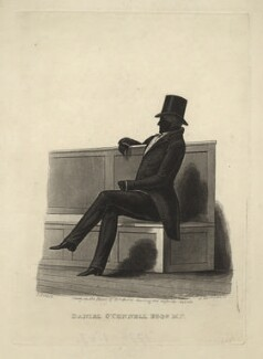 Daniel O'Connell, by James Bruce, 1830s - NPG D5376 - © National Portrait Gallery, London