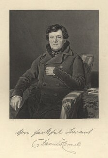 Daniel O'Connell, by William Holl Jr, after  Thomas Heathfield Carrick - NPG D5378