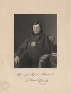 Daniel O'Connell, by William Holl Jr, after  Thomas Heathfield Carrick - NPG D5379