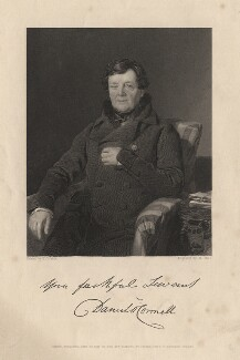 Daniel O'Connell, by William Holl Jr, after  Thomas Heathfield Carrick - NPG D5382