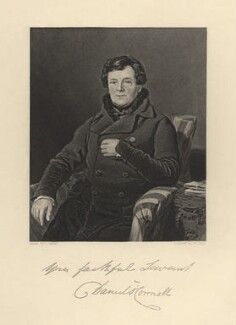 Daniel O'Connell, by William Holl Jr, after  Thomas Heathfield Carrick - NPG D5384