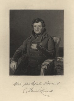 Daniel O'Connell, by William Holl Jr, after  Thomas Heathfield Carrick - NPG D5385