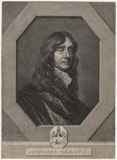 John Ogilby, by Pierre Lombart, after  Sir Peter Lely - NPG D5387
