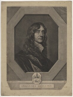 John Ogilby, by Pierre Lombart, after  Sir Peter Lely - NPG D5388