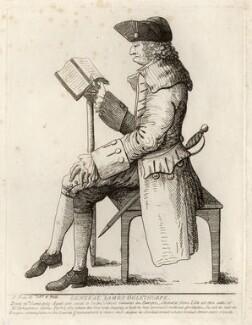 James Edward Oglethorpe, by Samuel Ireland - NPG D5389