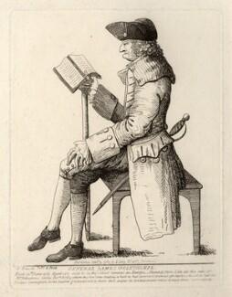 James Edward Oglethorpe, by Samuel Ireland - NPG D5390