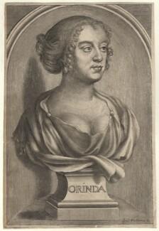 Katherine Philips (née Fowler), by William Faithorne - NPG D5411