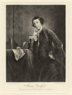 Horace Walpole, after James Macardell, after  Sir Joshua Reynolds - NPG D5423