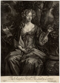 Elizabeth Campbell (née Tollemache), Duchess of Argyll when Lady Lorne, published by Alexander Browne, after  Sir Peter Lely - NPG D543