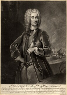 John Campbell, 2nd Duke of Argyll and Greenwich, by John Simon, after  William Aikman, 1719 or after - NPG D544 - © National Portrait Gallery, London