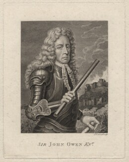 Sir John Owen, by James Caldwall, after  Unknown artist - NPG D5440