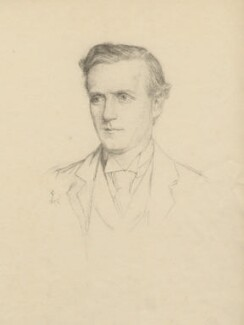 Herbert Henry Asquith, 1st Earl of Oxford and Asquith, after Violet Manners, Duchess of Rutland - NPG D5449