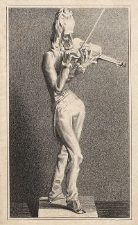 Nicolo Paganini, after a bronze by Jean Pierre Dantan - NPG D5452