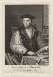 Matthew Parker, by George Vertue - NPG D5462