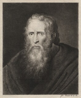 Thomas Parr, by George Powle, after  Sir Peter Paul Rubens, late 18th century - NPG D5468 - © National Portrait Gallery, London