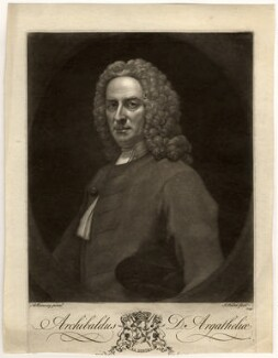 Archibald Campbell, 3rd Duke of Argyll, by John Faber Jr, after  Allan Ramsay - NPG D547