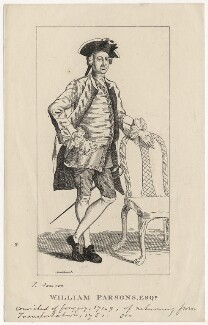 William Parsons, by George Cruikshank, after  T. Jonson - NPG D5473