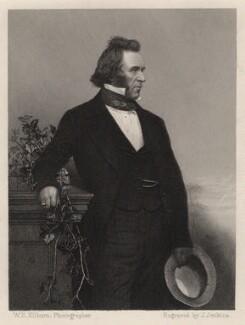 Sir Joseph Paxton, by Joseph John Jenkins, after a photograph by  William Edward Kilburn - NPG D5476