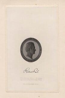 Sir Robert Peel, 2nd Bt, by Alfred Robert Freebairn, after a gem by  John De Veaux, after a bust by  Sir Francis Leggatt Chantrey, published 1837 - NPG D5485 - © National Portrait Gallery, London