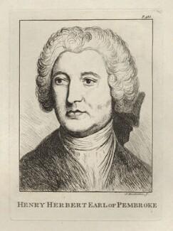 Henry Herbert, 9th Earl of Pembroke, by James Bretherton - NPG D5494