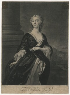 Teresia Constantia Phillips, by John Faber Jr, after  Joseph Highmore - NPG D5519
