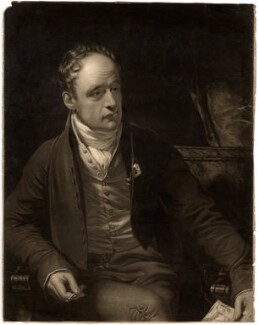 Robert Ashby, by G. Glint, after  Thomas Phillips - NPG D552