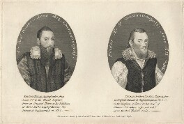Sir Paul Pindar, by Thomas Trotter, published by  John Simco - NPG D5524
