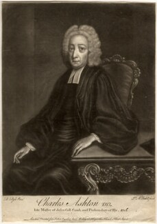 Charles Ashton, by James Macardell, after  Robert Pyle - NPG D553